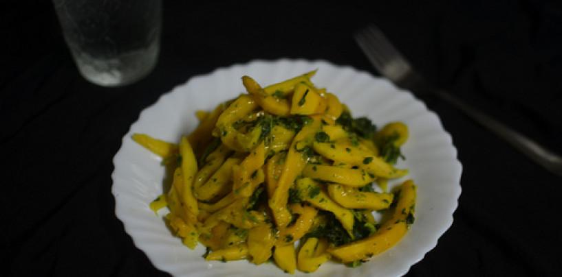 Herby Mango Salad