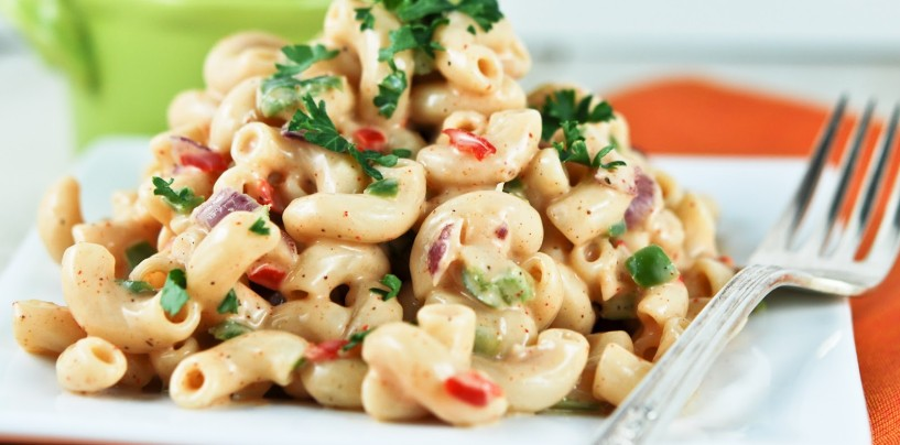 Macaroni in Cashew Nut Cream
