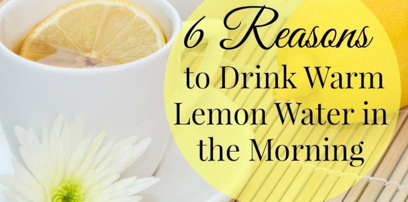 Kick Start Your Day With Warm Lemon Water