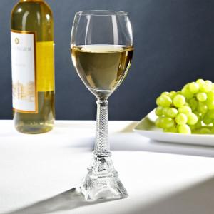 White-vine-in-Eiffel-Tower-Wine-Glass