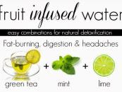 Healthy Flavoured Water Ideas (Drink Recipe)