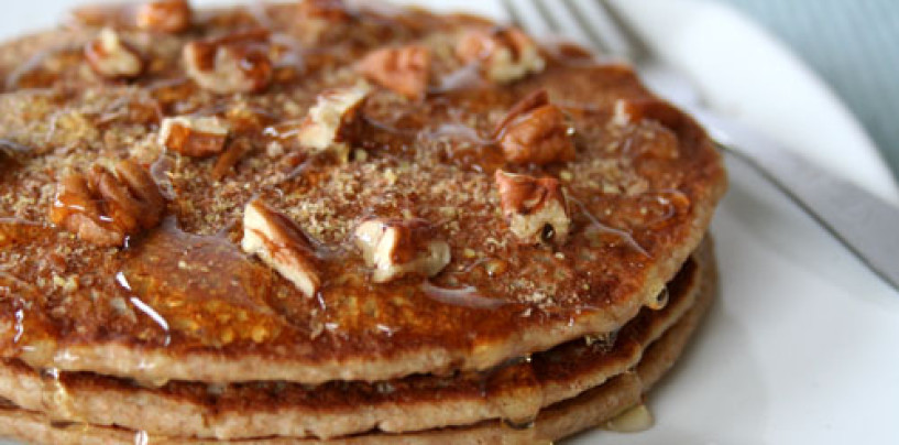 Cinnamon Coconut Milk Pancakes Recipe