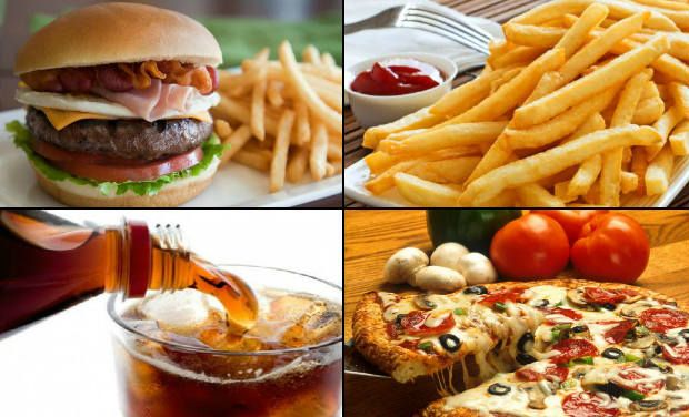 essay on effects of eating too much junk food