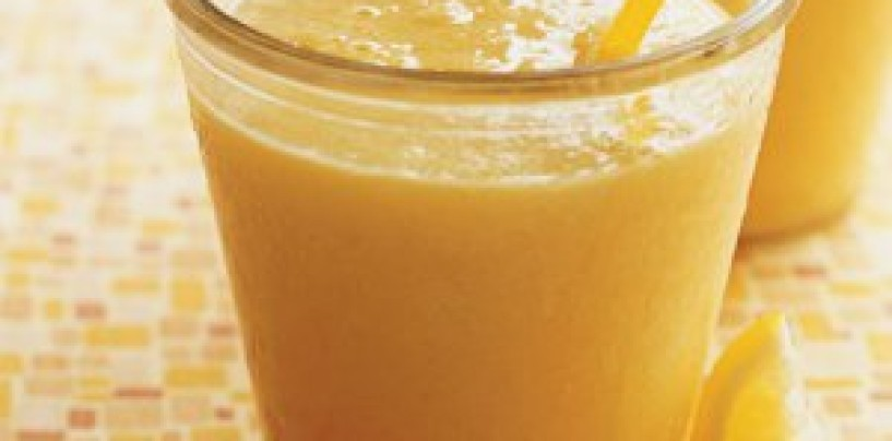 Sunshine Smoothie Recipe | #SaturdayFun