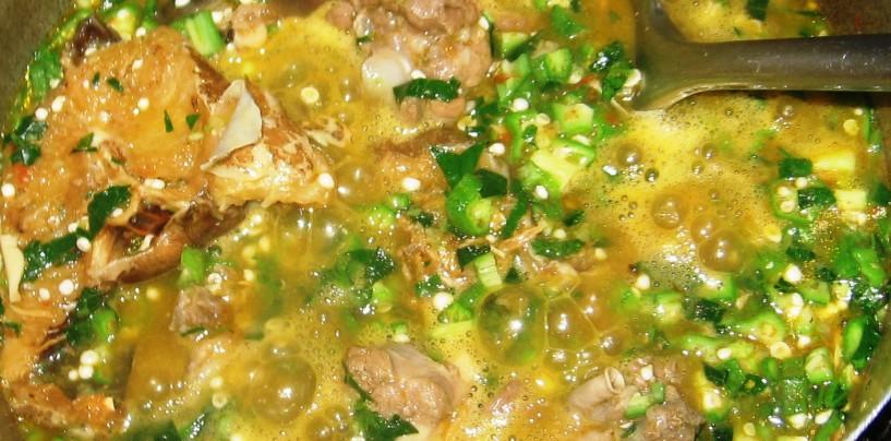 Okro Soup (Obè ilá àsèpò) Recipe