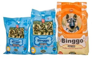 uac binggo dog food