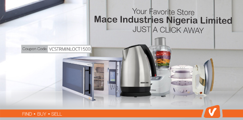 Best of Kitchen appliances from your favourite store, Mace Industries Nigeria Limited- Just a Click Away!