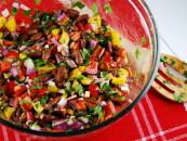 Kidney bean and raisin salad recipe