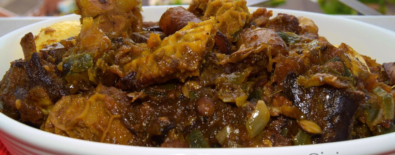Recipe for Ofada Stew (Ayamase)