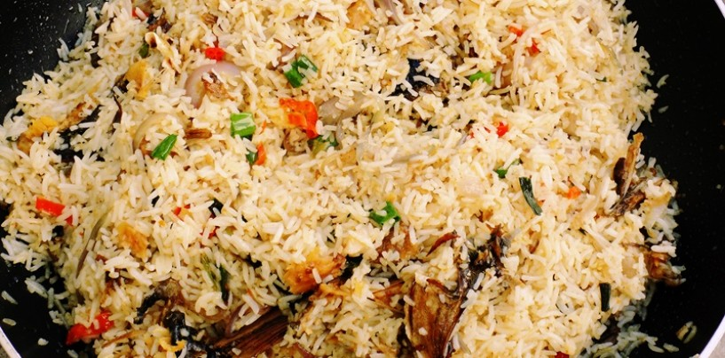 RECIPE FOR STIR FRIED CONCOCTION BASMATI RICE