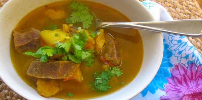 Recipe for plantain soup