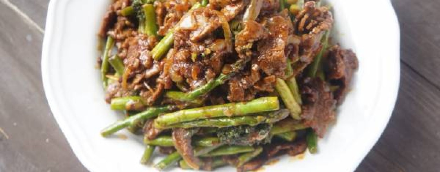 Recipe for Beef Stirfry Sauce