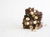 Chocolate, Hazelnut & Ginger Bars Recipe