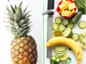 Superfood Smoothie Recipe with Pineapple and Cucumber