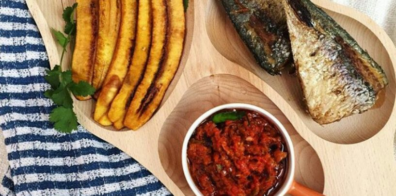 How to prepare Roasted Plantain (Boli)