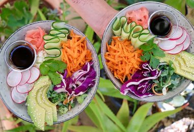 Sushi Salad Recipe